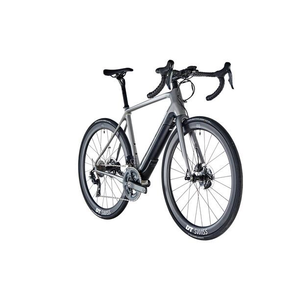 42c38f25b0a FOCUS PARALANE² 9.9 Shimano Dura Ace Di2 9150 36/52 Electric Road Bike  Silver 20 - Probikeshop